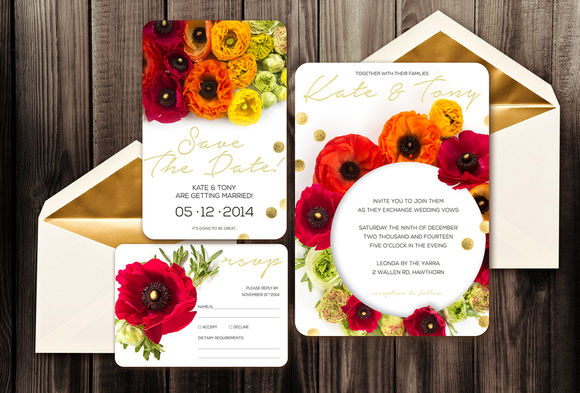 Wedding Invitation Ep by Zepol is available from CreativeMarket for $15.