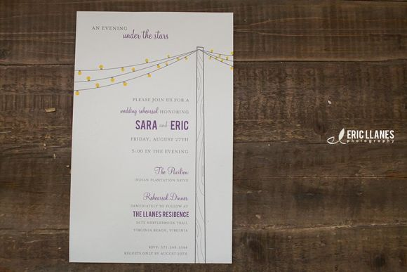 Wedding Rehearsal Invite by SaraLlanes is available from CreativeMarket for $12.