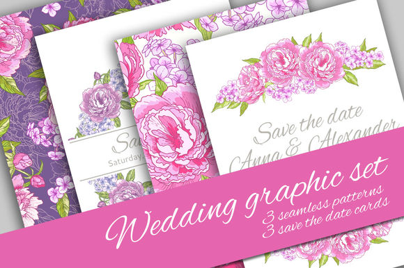 Wedding Graphic Set by JuliettIllustration is available from CreativeMarket for $10.