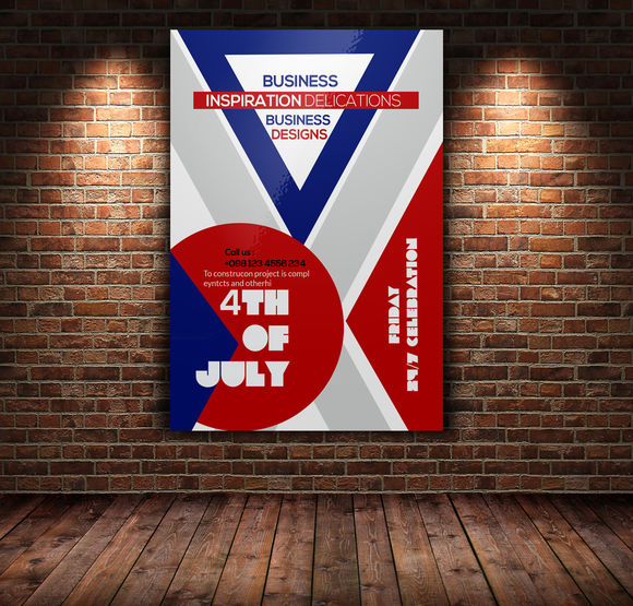 4th Of July Event Flyer Template by Leza is available from CreativeMarket for $6.