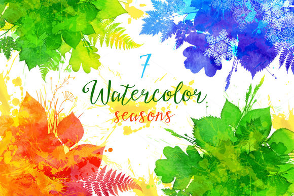 Watercolor Vector Seasons Banners by Art-of-Sun is available from CreativeMarket for $7.