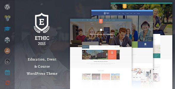 Education by Templaza is a WordPress theme for colleges and universities which features parallax elements, Mega Menu, fully responsive layouts, search engine optimization, Revolution Slider, clean design, Bootstrap framework utilization and bold design elements.