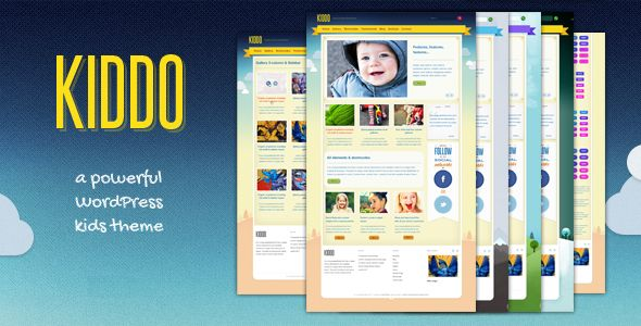 Kiddo by Sinote is a educational WordPress theme which features one page layouts and Colorful.