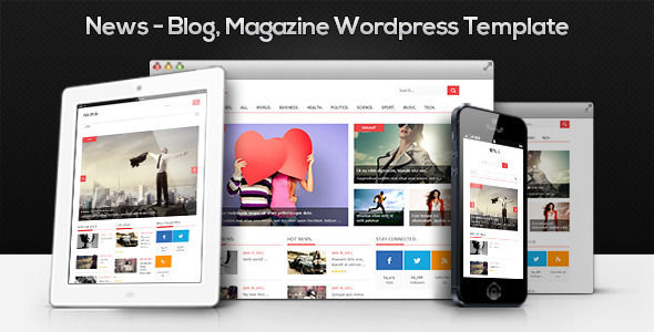 News by MyPassion is a news magazine WordPress theme which features Retina display support, one page layouts, fully responsive layouts, search engine optimization, Google Fonts support, clean design and magazine style layouts.