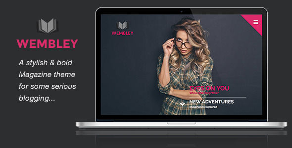 Wembley by PixelGrapes is a news magazine WordPress theme which features Mega Menu, fully responsive layouts, Revolution Slider, magazine style layouts and blogging related layouts and optimizations.
