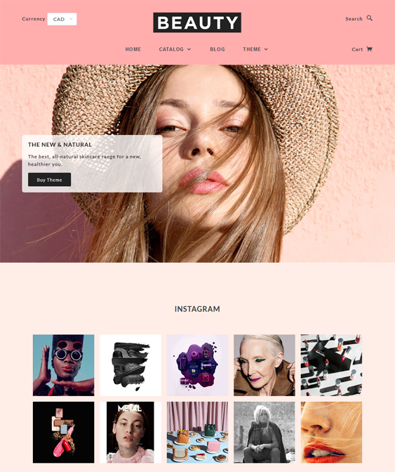 blockshop shopify themes health beauty products