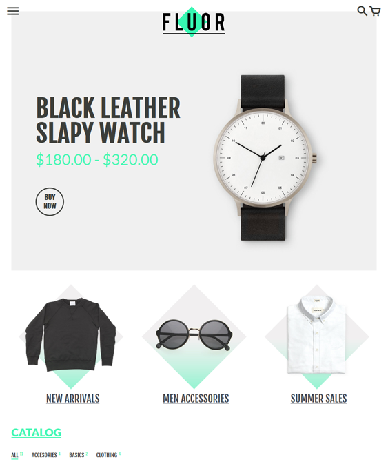 colors clean shopify themes
