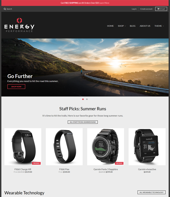 district sports fitness shopify themes