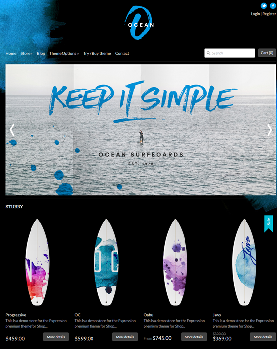 expression sports fitness shopify themes