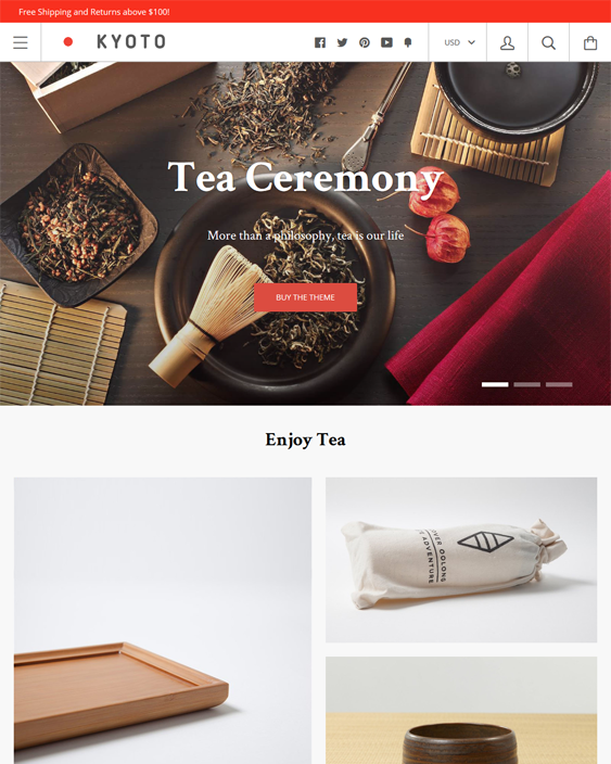 kagami clean shopify themes