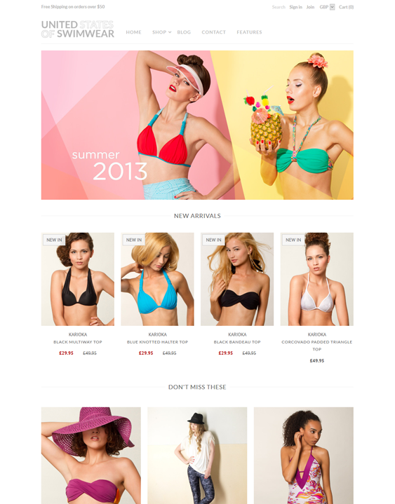 mr parker swimwear shopify themes