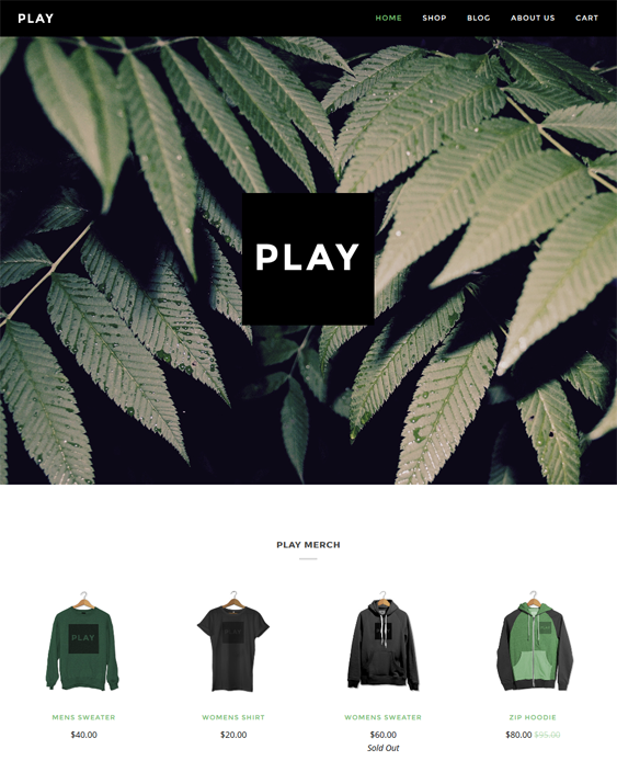 pipeline clean shopify themes