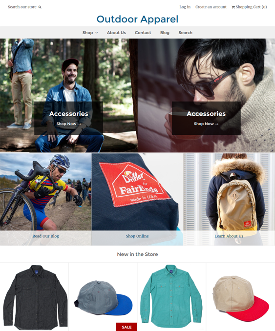weekend clean shopify themes