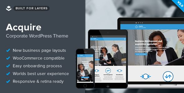 Acquire by Obox (WordPress theme)