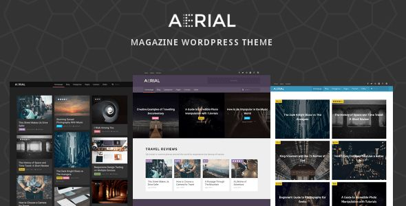 Aerial by Gawibowo (WordPress theme)