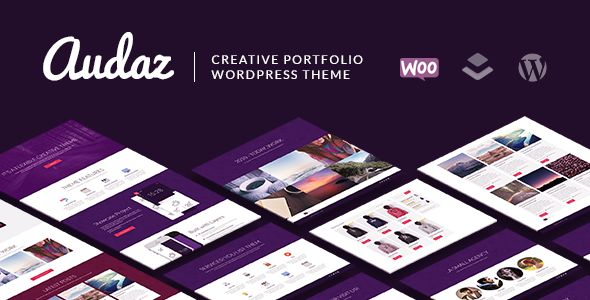 Audaz by Soluthemes (WordPress theme)