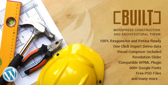 BUILT by RedExp (WordPress theme)