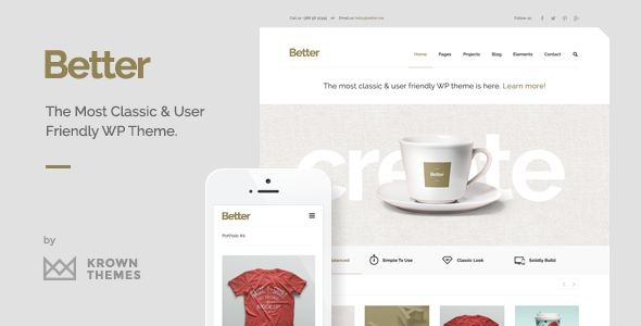 Better by KrownThemes (WordPress theme)