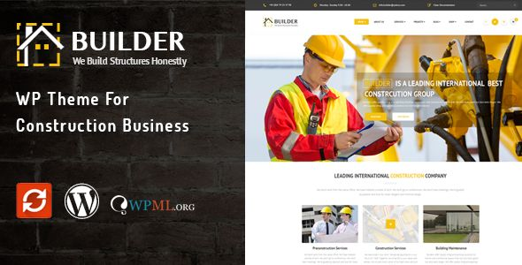 Builder by Wow_themes (WordPress theme)