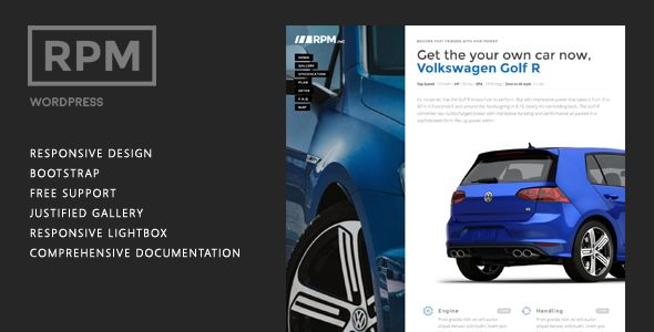 Car Dealership Landing Page WordPress by Themesmile is a WordPress theme for automotive websites which features support for RTL languages, fully responsive layouts, Google Fonts support, Revolution Slider, clean design and Bootstrap framework utilization.
