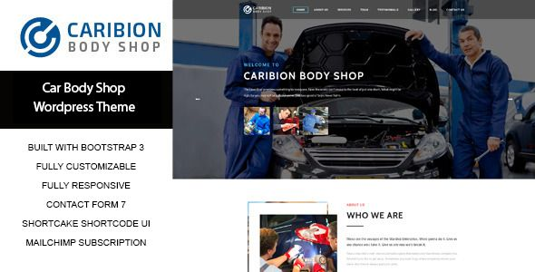 Caribion by Wow_themes is a WordPress theme for automotive websites which features fully responsive layouts, search engine optimization, Revolution Slider, clean design, Bootstrap framework utilization and can be used for your portfolio.