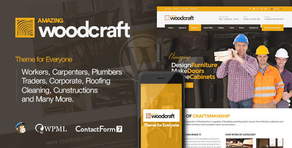 Carpenter by PixFill (WordPress theme)