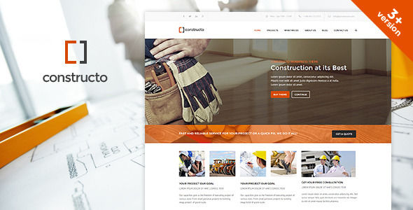 Constructo by Anps (WordPress theme)