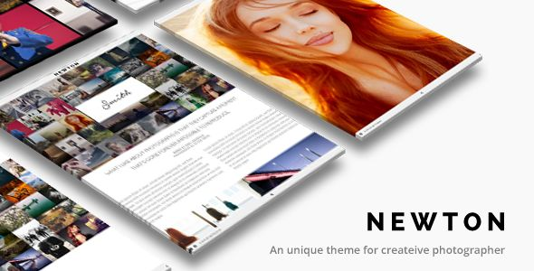 Creative Photography Responsive by ThemeGoods (WordPress theme)