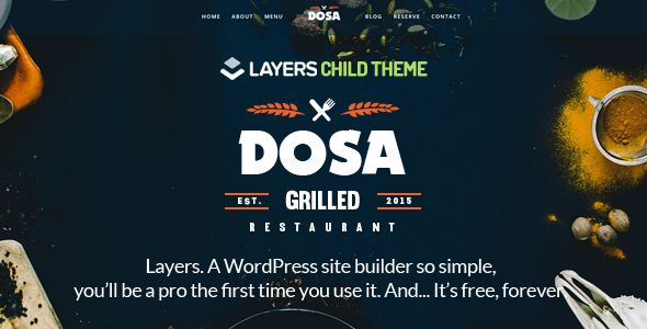 DOSA by AivahThemes (WordPress theme)