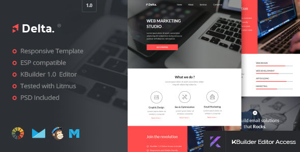 Delta by Promail (HTML Email Template)