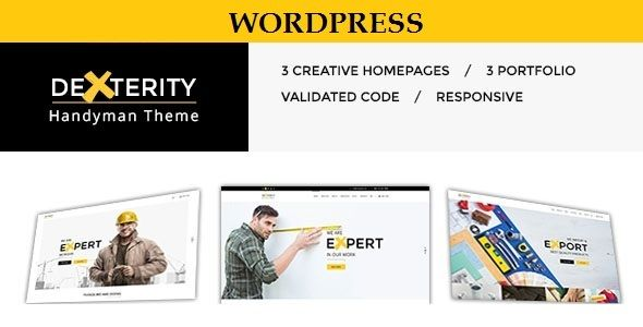 Dexterity by Themographics (WordPress theme)
