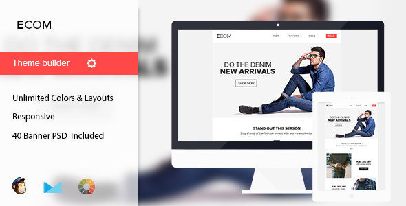 Ecom by Mail1395 (HTML Email Template)