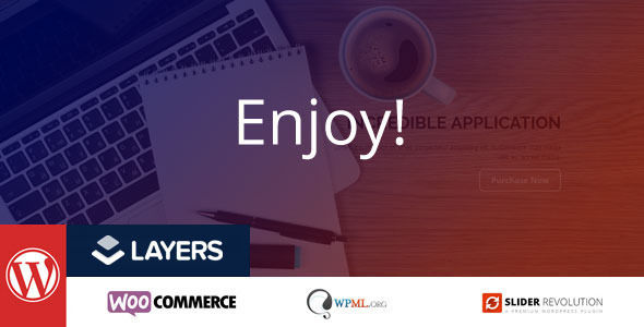 Enjoy by Mymoun (WordPress theme)