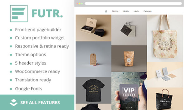 FUTR by ThemePioneer (WordPress theme)