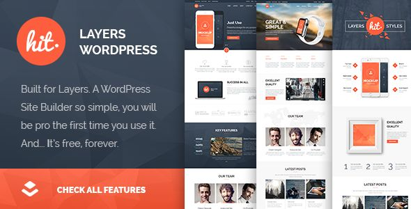 Hit by Soluthemes (WordPress theme)