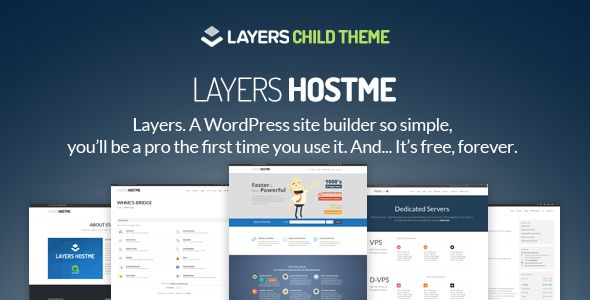 Hostme by AivahThemes (WordPress theme)