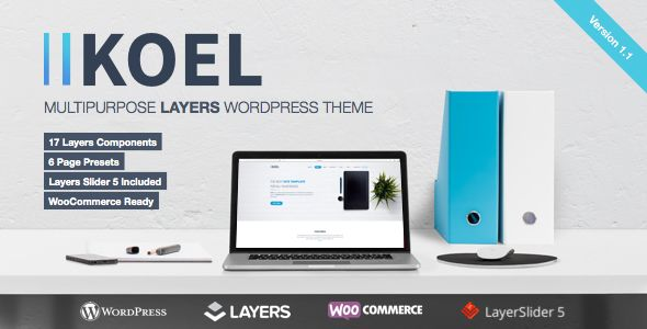 Koel by Webcloudltd (WordPress theme)
