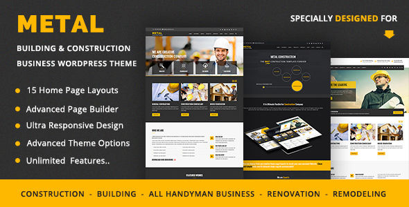 Metal by Zozothemes (WordPress theme)