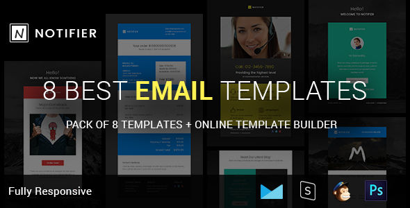 Notifier by Mailway (HTML Email Template)