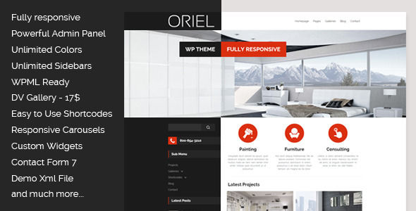 ORIEL by Egemenerd (WordPress theme)