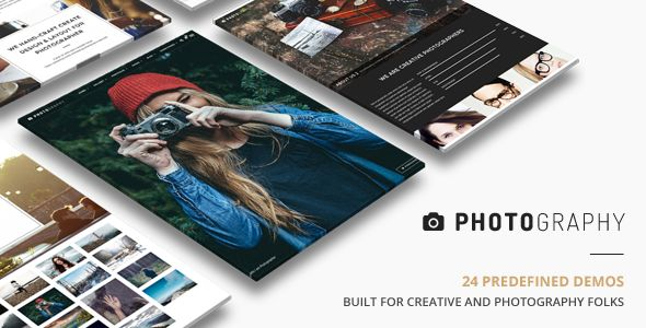 Photography by ThemeGoods (WordPress theme)