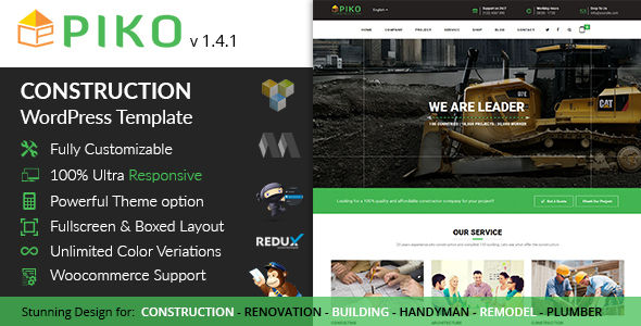Pikocon by Themepiko (WordPress theme)
