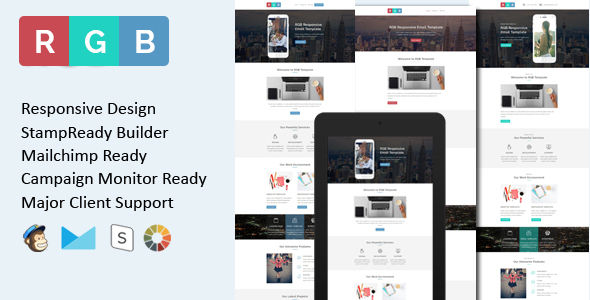RGB by Evethemes (HTML Email Template)