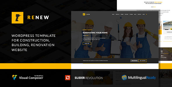 Renew by Templines (WordPress theme)