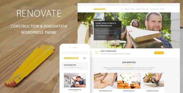 Renovate by QuanticaLabs (WordPress theme)