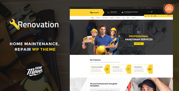 Renovation by ThemeMove (WordPress theme)