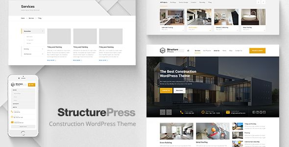 StructurePress by ProteusThemes (WordPress theme)