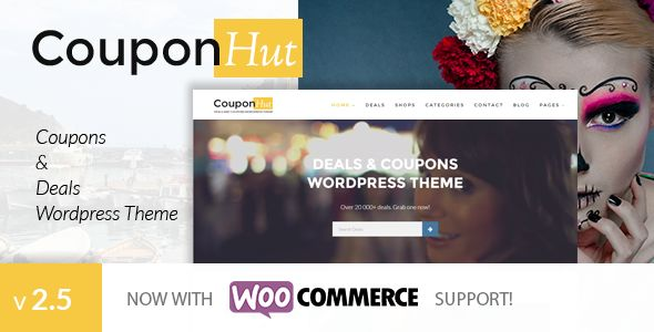 CouponHut by Subsolar (WordPress theme)