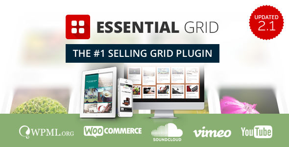Essential Grid WordPress Plugin by Themepunch (pricing table plugin)