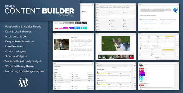 Ether Content Builder WordPress Plugin by Onether (pricing table plugin)